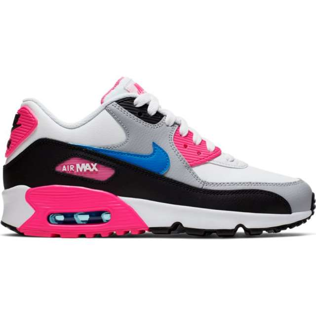 NIKE AIR MAX 90 LEATHER SHOES